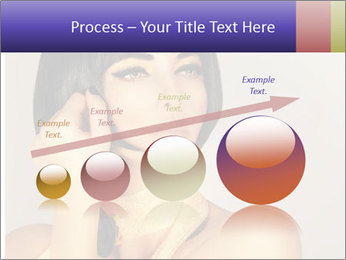 Picture of gorgeous female PowerPoint Templates - Slide 87