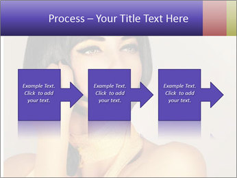 Picture of gorgeous female PowerPoint Templates - Slide 88
