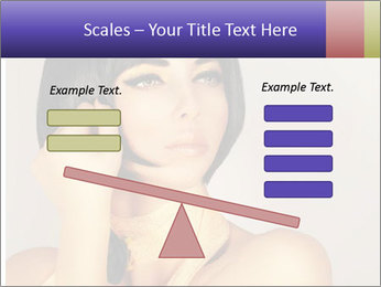 Picture of gorgeous female PowerPoint Templates - Slide 89