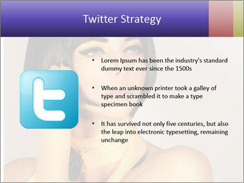 Picture of gorgeous female PowerPoint Templates - Slide 9