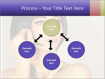 Picture of gorgeous female PowerPoint Templates - Slide 91