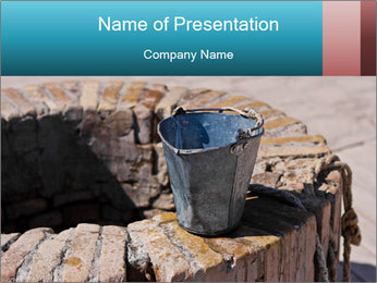 A water well PowerPoint Template