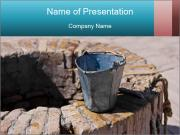 A water well PowerPoint Templates