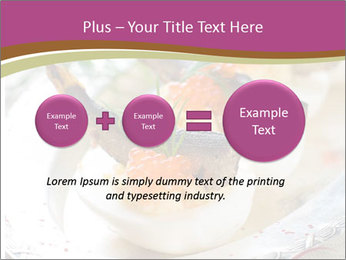 Eggs stuffed with yolk PowerPoint Templates - Slide 75