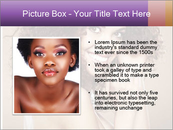 Beauty portrait girl PowerPoint Template - Slide 13
