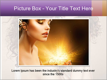 Beauty portrait girl PowerPoint Template - Slide 16