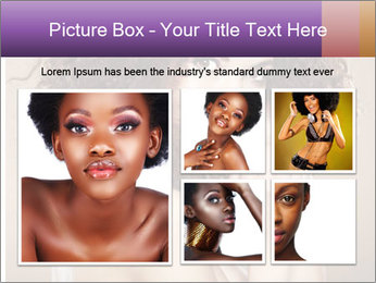 Beauty portrait girl PowerPoint Template - Slide 19