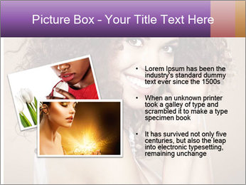 Beauty portrait girl PowerPoint Template - Slide 20