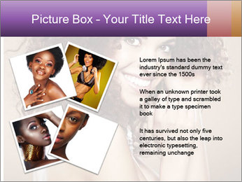 Beauty portrait girl PowerPoint Template - Slide 23