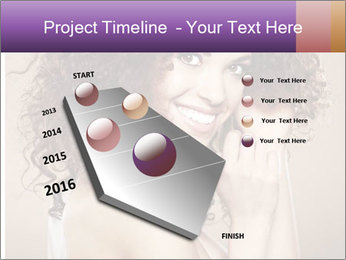 Beauty portrait girl PowerPoint Template - Slide 26