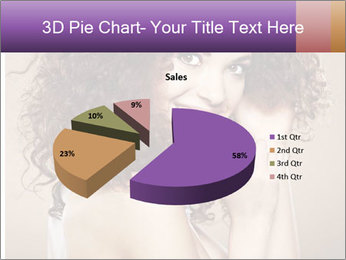 Beauty portrait girl PowerPoint Template - Slide 35
