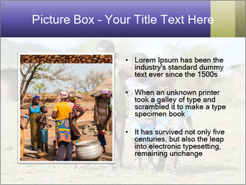 African children PowerPoint Template - Slide 13
