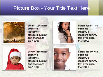 African children PowerPoint Template - Slide 14