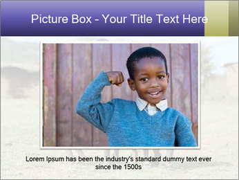 African children PowerPoint Template - Slide 16