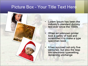 African children PowerPoint Template - Slide 17