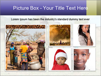 African children PowerPoint Template - Slide 19