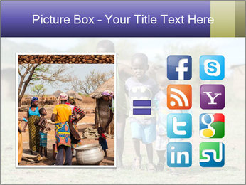 African children PowerPoint Template - Slide 21