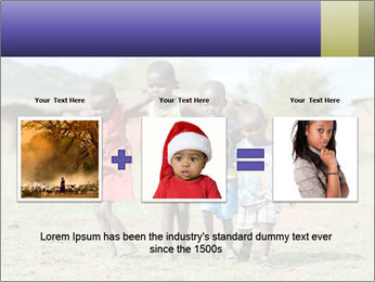 African children PowerPoint Template - Slide 22