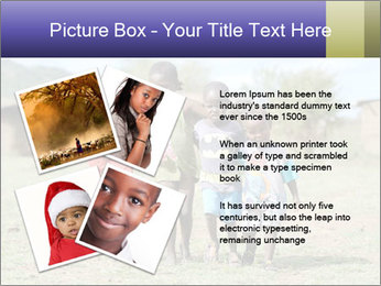 African children PowerPoint Template - Slide 23