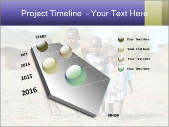 African children PowerPoint Template - Slide 26