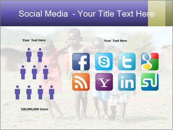 African children PowerPoint Template - Slide 5