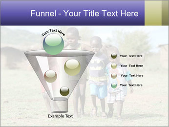 African children PowerPoint Template - Slide 63
