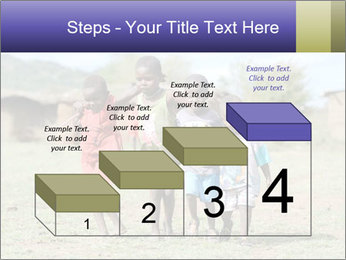 African children PowerPoint Template - Slide 64