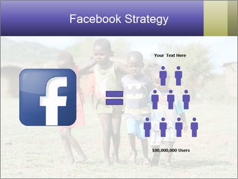 African children PowerPoint Template - Slide 7