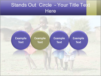 African children PowerPoint Template - Slide 76