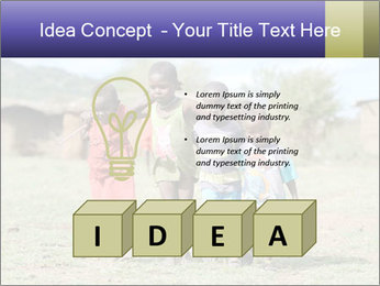 African children PowerPoint Template - Slide 80