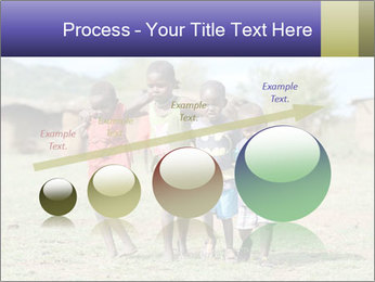 African children PowerPoint Template - Slide 87