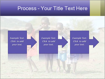 African children PowerPoint Template - Slide 88