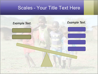 African children PowerPoint Template - Slide 89
