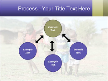 African children PowerPoint Template - Slide 91