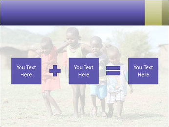African children PowerPoint Template - Slide 95