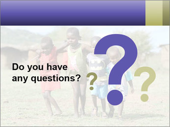 African children PowerPoint Template - Slide 96