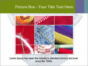 Blue jean shirt PowerPoint Template - Slide 16