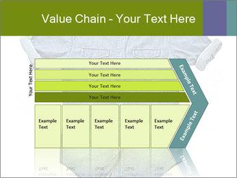 Blue jean shirt PowerPoint Template - Slide 27
