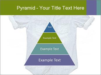 Blue jean shirt PowerPoint Template - Slide 30