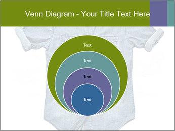 Blue jean shirt PowerPoint Template - Slide 34