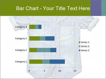 Blue jean shirt PowerPoint Template - Slide 52
