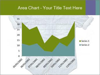 Blue jean shirt PowerPoint Template - Slide 53
