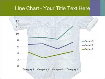 Blue jean shirt PowerPoint Template - Slide 54