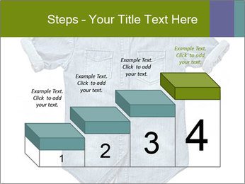 Blue jean shirt PowerPoint Template - Slide 64