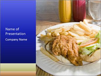 Sandwich Caribbean style PowerPoint Template - Slide 1