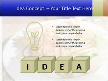Sandwich Caribbean style PowerPoint Template - Slide 80