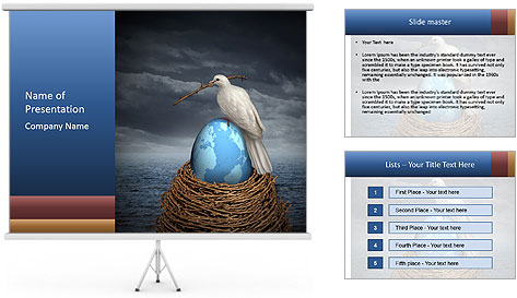 Global Peace PowerPoint Template
