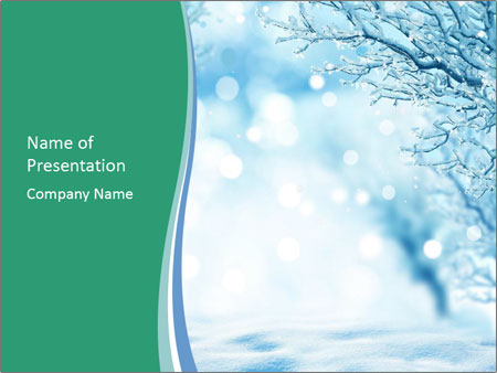 Winter PowerPoint Templates
