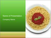 Italian pasta PowerPoint Templates