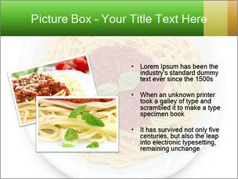 Italian pasta PowerPoint Template - Slide 20